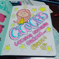 School Notebooks, Merlin, Drawings, Cami, Pikachu, Diy, Scrapbooks, Notebook, Frases