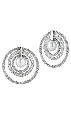 View this gorgeous #Charriol Modern Pearl 03-32-SP12-11 at Jeffreymannfine Jewelers source:www.jeffreymannfinejewelers.com