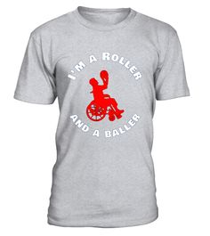 "# Roller and a Baller t-shirt - Basketball Athletic Wheelchair .  Special Offer, not available in shops      Comes in a variety of styles and colours      Buy yours now before it is too late!      Secured payment via Visa / Mastercard / Amex / PayPal      How to place an order            Choose the model from the drop-down menu      Click on ""Buy it now""      Choose the size and the quantity      Add your delivery address and bank details      And that's it!      Tags: This I'm a roller and…"