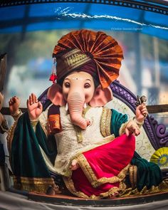 Ganesh Chaturthi Photos, Ganesh Chaturthi Status, Ganesh Chaturthi Decoration, Happy Ganesh Chaturthi Images, Shri Ganesh Images, Ganesha Pictures, Baby Ganesha, Ganesha Art, Ganpati Bappa Photo