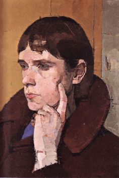 Euan Uglow Euan Ernest Richard Uglow March 1932 – 31 August was a Briti. Figure Painting, Figure Drawing, Painting & Drawing, Pinterest Arte, Portrait Art, Portraits, Figurative Kunst, Paintings I Love, Face Art