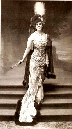 Olga Princess Paley, the morganatic wife of Grand Duke Paul Aleksandrovich of Russia (murdered in 1919), she was an outstanding beauty and she married in Paris, the younger brother of Tsar Alexander III and uncle of Nicholas II, two years after his wife Alexandra of Greece passed away. They had one son, Vladimir murdered in 1918, Irina and Natalia, both lived almost unitil the fall of the Soviet Union.