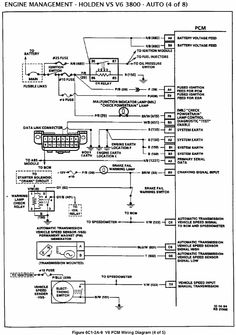 10 VS V6 PCM ECM ideas | electrical problems, automotive repair, diagram | Vr Commodore Wiring Diagram |  | Pinterest