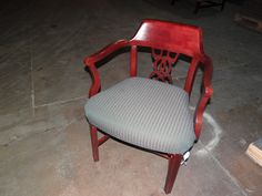 I love this chair!! We have so many guest chairs. Most are priced to sell. New and used come see us at 2700 Riverside Drive in Chattanooga or http://www.ofwllc.com