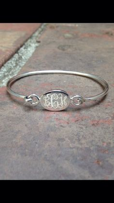 A personal favorite from my Etsy shop https://www.etsy.com/listing/479470723/monogrammed-childs-sterling-silver-latch