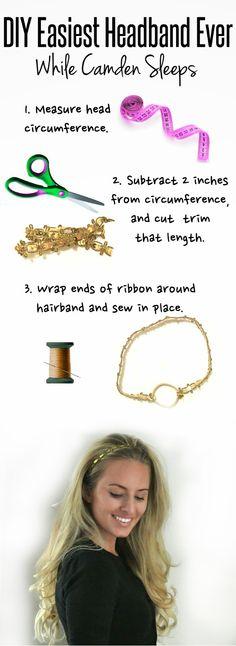 DIY Super Easy Headband