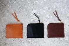 手工縫製的皮革3合1錢包