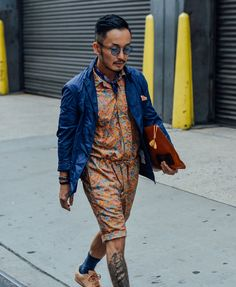 Tommy Ton Shoots the Best Street Style from the Men's Fashion Shows '16