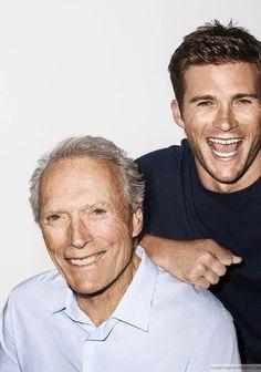 Clint y Scott Eastwood para Esquire USA Septiembre 2016 por Terry Richardson