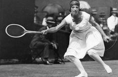 France's Suzanne Lenglen.