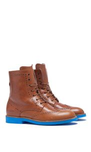 Wingtip Boot - Cognac