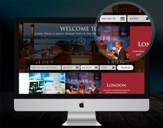 Free Website Template for Hotel Search