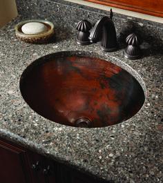 Asana® Copper Single Bowl Undermount Sink ECU1714ACH