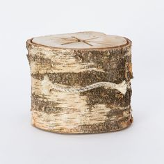 portable bonfire log