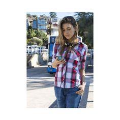 Alba, Black & White Plaid shirt – CAMIXA Shirts via Polyvore