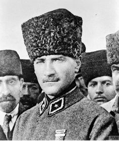 "Kemal Atatürk - ""Sovereignty is not given, it is taken. - -Mustafa Kemal Atatürk - ""Sovereignty is not given, it is taken. Turkish Army, Anzac Day, Head & Shoulders, Great Leaders, The Turk, Old World, Amazing Women, Persona, Winter Hats"