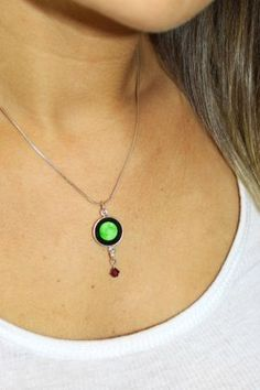 Birthstone Necklace / Moonglow Jewelry / Charmed Simplicity
