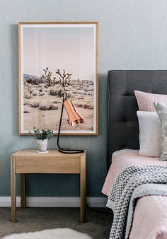 Hannah blackmore photography interior homes photography scandi bedroom desert photography