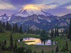Tipsoo Pond, Mount Rainier National Park