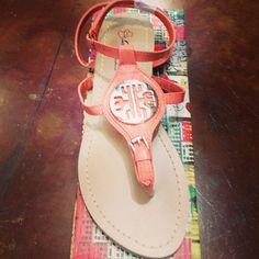 Tory Birch Inspired Sandals are HEERREEEE!