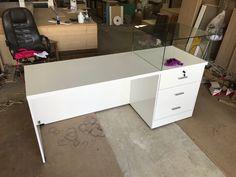 Corner Desk, Counter, Furniture, Home Decor, Corner Table, Decoration Home, Room Decor, Home Furnishings, Home Interior Design
