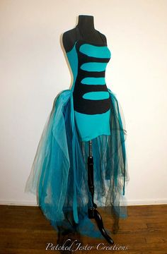 Alice in Wonderland Caterpillar Dress by PatchedJester on Etsy
