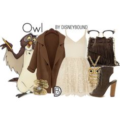 Disney Bound - Owl