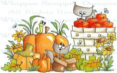 Nuts to You! - Fall - Seasons - Rubber Stamps