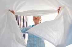 Bedrooms Launder bedding and pillows. If you change bedding for the season, air out the spring blankets before putting them on bed. Store winter bedding after having it cleaned. Clean Bed, Winter Bedding, Spring Cleaning Checklist, Simple Pictures, Homekeeping, Bed Mattress, Bed Covers, Kids Decor, Cool Things To Make