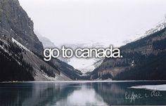 Ir a Canadá.