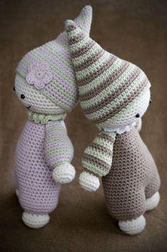 Cuddly baby amigurumi by lilleliis