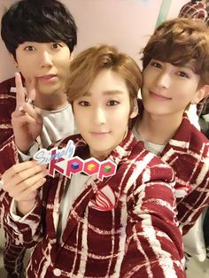 Hoon, Kevin, and Kiseop