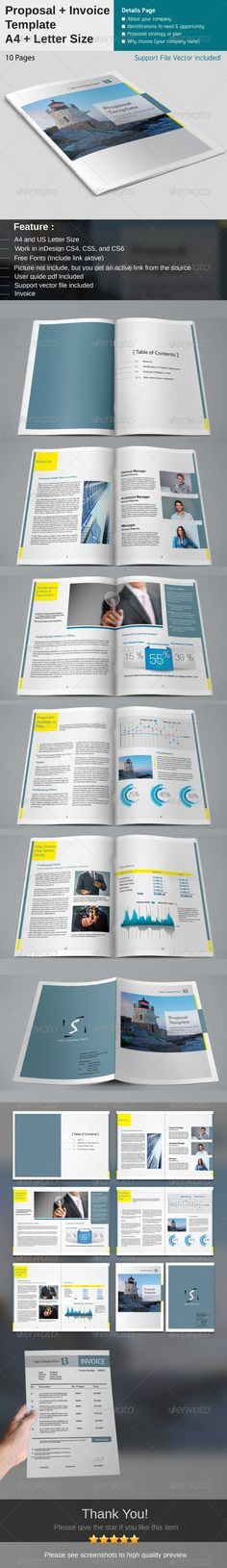 In this article we collect some great proposal templates (psd ...
