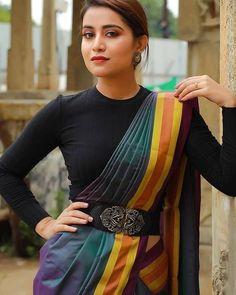 black blouse designs for saree - Blouse designs Lehenga Designs, Kurta Designs, Black Blouse Designs, Saree Blouse Neck Designs, Wedding Saree Blouse Designs, Modern Blouse Designs, Latest Blouse Neck Designs, Wedding Sarees, Saree Wearing Styles