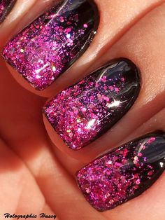 Holographic Hussy: Nails Inc Princess Arcade  I think I can pull this off with some of my Julep polishes