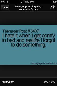 Like going pee.... Teenagerpost lolsotrue