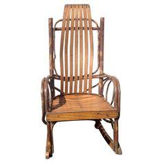 Child's Adirondack Rocking Chair