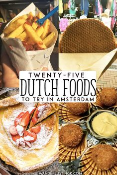 Trying to figure out what to eat in Amsterdam? 25 Dutch foods that you'll want t… Trying to figure out what to eat in Amsterdam? 25 Dutch foods that you'll want to eat in Holland, including the best places to eat Dutch food in Amsterdam. Amsterdam Winter, Amsterdam Food, Visit Amsterdam, Amsterdam Travel, Hotel Amsterdam, London Travel, Amsterdam Itinerary, Netherlands Food, Amsterdam Netherlands