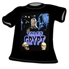T-Shirt Crypt Keeper Tales From the Crypt via shared by Ec Comics, Tales From The Crypt, Mens Tops, T Shirt, Women, Tee Shirt, Tee