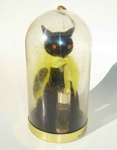 Vintage 60s Cat Max Factor Hypnotique by metroretrovintage on Etsy,