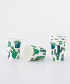 "- 8 Cups - Paper - 3"" Diameter - 3.5"" Tall"
