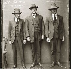 They don't make mugshots like this anymore: Amazing police photos ...