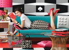what isn't there to love about this photo styling? wow!mazing Kate Spade {via VT Interiors Blog}