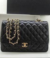 Chanel Classic Flap Bolso en Caviar Calfskin. Chanel bolso tamaño pequeño. Excelente Bolsa para salir de noche.