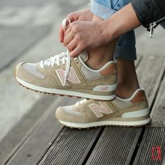 Sneakers femme - New Balance WL574