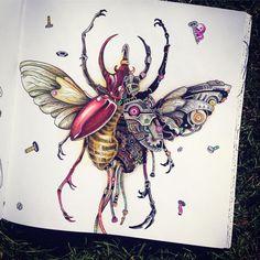 The end ✏️ #imagimorphia #kerbyrosanes #coloringbook