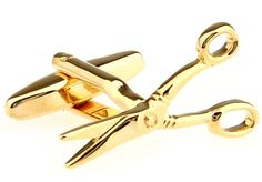 MRCUFF Scissors Pair Cufflinks in a Presentation Gift Box & Polishing Cloth. Scissors Cufflinks with a Presentation Gift Box. Arrives in hard-sided presentation box ready for gift giving. 30 day, no reason needed return policy. We make your french cuffs look good!. Microfiber polishing cloth included with set.