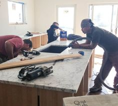 faithu0027s kitchen renovation how we finally got our carrara marble countertops u2014 renovation diary faithu0027s budget luxe kitchen