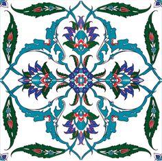 Floral Delight Turkish Tile                                                                                                                                                                                 More
