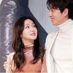 The way now she is looking at him. what are this two? Gong Yoo & Kim Go Eun as Goblin and his bride